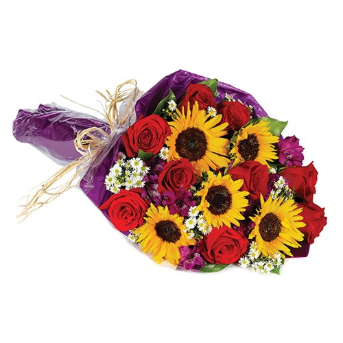 """Thinking of You"" hand-tied flower bouquet (BF261-11)"